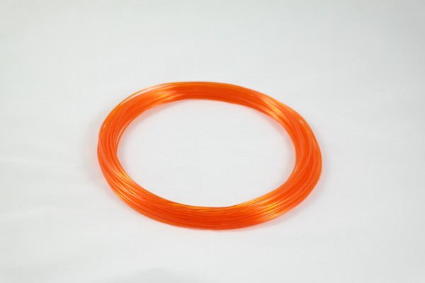 50gr 3DPSP PETG - Trans. Orange - 1.75mm - Sample