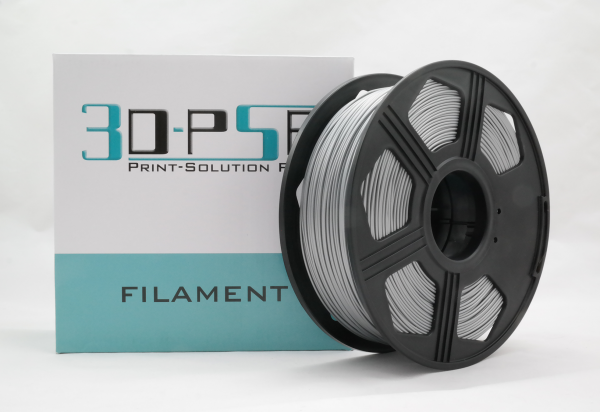 50gr 3DPSP PLA HS Filament - SILVER - 1.75mm - Sample