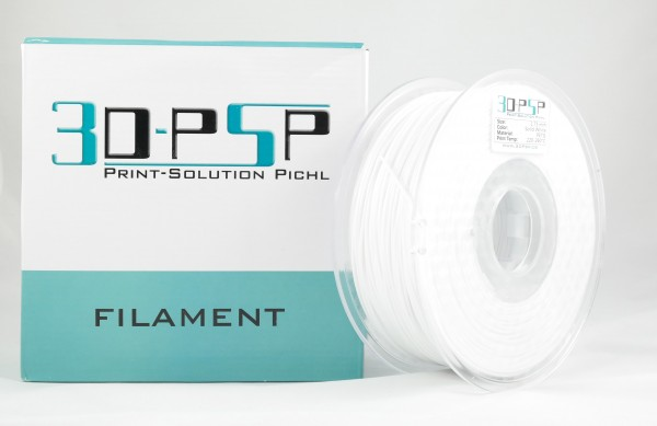 3DPSP PETG Filament - Solid White - 2.85mm - 1Kg