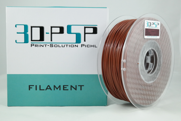 3DPSP PETG Filament - Solid Brown - 1.75mm - 1Kg