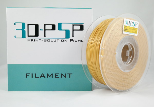 3DPSP PETG Filament - Solid Gold Yellow - 1.75mm - 1Kg