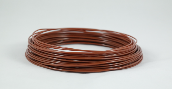50gr 3DPSP PETG - Solid Brown - 1.75mm - Sample
