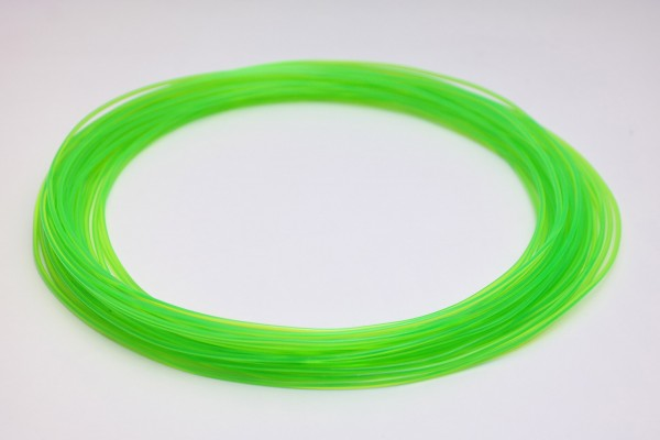 50gr 3DPSP PETG - Trans Green - 1.75mm - Sample