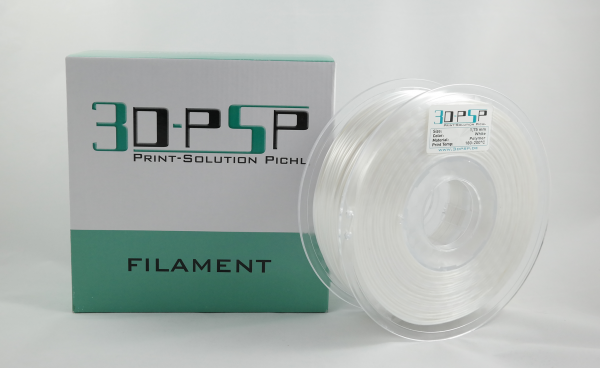 3DPSP Polymer Filament - White - 1.75mm - 1Kg