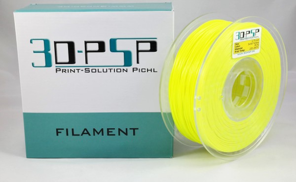 3DPSP PETG Filament - Solid Yellow - 1.75mm - 1Kg