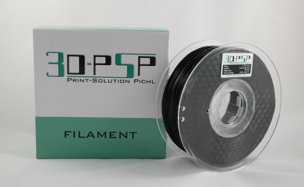 3DPSP PETG Filament - Solid Black - 1.75mm - 1Kg