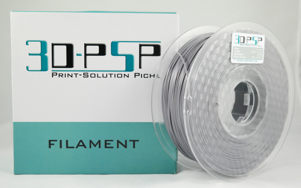 3DPSP PETG Filament - Solid Grey - 1.75mm - 1Kg