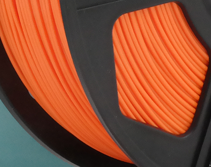 50gr 3DPSP PLA HS Filament - ORANGE - 1.75mm