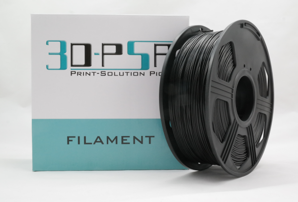 50gr 3DPSP PLA HS Filament - BLACK - 1.75mm - Sample